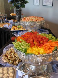 Reception Catering & Planning | Catered Appetizers & Hors d'Ourvers