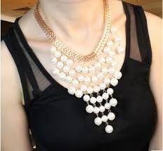 Resultado de imagen para collares de perlas modernos