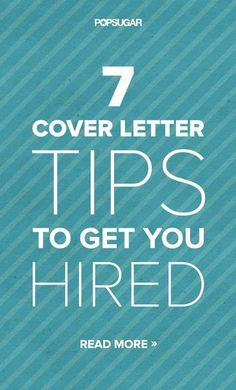 Perfecting your cover letter is key to earning a face-to-face meet. Here are some tips for a perfect cover letter that will catch any recruiter's eye