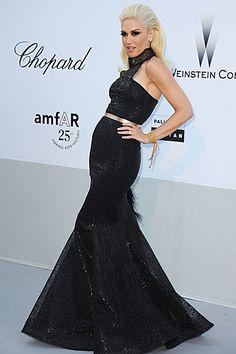 Gwen Stefani Cannes Film Festival Hairstyles