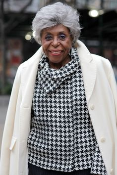 ADVANCED STYLE: 95 Years Young.  ALVIS ROGERS IS A CLASS ACT AND VERY ELEGANT. I've known Alvis close to 50 years. We met at Casdulan Hair Salon, owned by Frenchie, located next to the famed Apollo Theatre on 125th Street. The salon was  very popular during that time because all the hair stylists were great, which attracted very chic clients and celebrities.