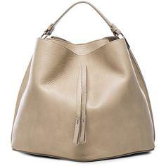 Maison Margiela Leather Satchel ($1,880) ❤ liked on Polyvore featuring bags, handbags, handle satchel, genuine leather purse, brown leather satchel, brown satchel and brown satchel handbag