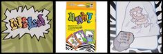 """Ugh! is a hilarious card game by Calliope that my kids like to play with and without us. Your goal is to get the most points but the trick is you can only get points from """"locked"""" sets of cards (basically 1 of each color). Beware the Ugh! card as that can cause you to lose cards!"""