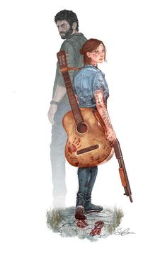 The Last of Us Part II☺ Credit goes to: Beautiful Art of Stephanie Cardo… Sim! The Last of Us Part II☺ Credit goes to: Beautiful Art of Stephanie Cardoso ( ❤ Last Of Us, Culture Pop, Geek Culture, The Lest Of Us, Joel And Ellie, Edge Of The Universe, Arte Nerd, Fan Art, Life Is Strange