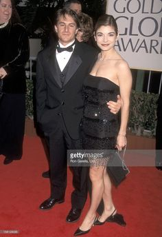 Actors Matt Adler and Laura San Giacomo attends the Annual Golden Globe Awards on January 1998 at Beverly Hilton Hotel in Beverly Hills, California. Get premium, high resolution news photos at Getty Images Laura San Giacomo, Strapless Dress Formal, Formal Dresses, Beverly Hilton, Famous Couples, Golden Globe Award, Cowboys, January