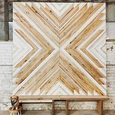 Beautiful woodwork and design from @aleksandrazee. It would make a beautiful statement piece. #handmadeisbetter #makersgottamake