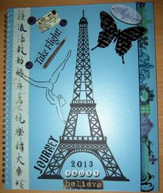 2013 Altered Planner - #Collage in Progress - #WOYWW