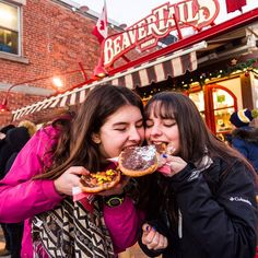 Treating Spanish students to a legendary Canadian treat :) #BeaverTails via @Funlanguages_ca on Twitter