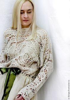 Платья ручной работы. Ярмарка Мастеров - ручная работа платье бохо жизнь прекрасна. Handmade.