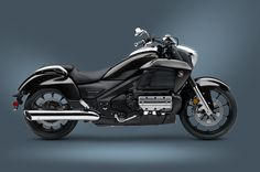 2014 Gold Wing Valkyrie Black