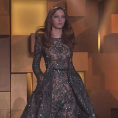 Presenting glimpses from the ELIE SAAB Haute Couture Autumn Winter 2015-16 Fashion Show. Watch it all on #Thelightofnow   Link in bio