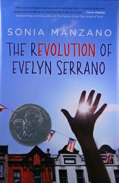 """Pura Belpré Award Author Honor Book - The Revolution of Evelyn Serrano - HF YA. This book was a struggle for me. It felt disjointed and I could never get into the flow."