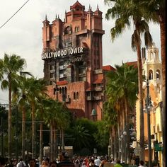 Tower of Terror - someday I will retire to Florida, buy a Disneyworld season pass and ride Tower of Terror to my heart's delight. :)
