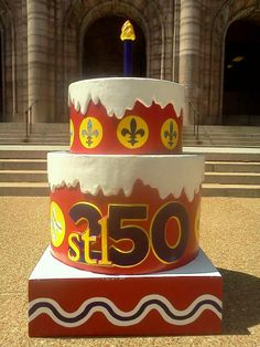 #STL250 Cakes - Cakeway to the West. City Hall in Downtown St Louis. Find A Cake - Make A Date - Elope for $50