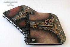 Steampunk Notebooks by Diarment.deviantart.com on @deviantART