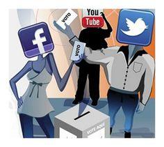 El poder de difusión en las redes permite a los políticos suplir el limitado espacio que tienen en los...