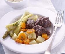 Recette Pot-au-feu par thermomix - recette de la catégorie Viandes