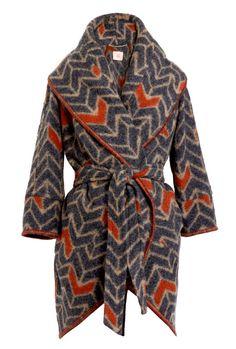 cozy cocoon coat