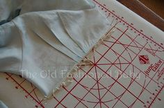 The Old Fashioned Baby Sewing Room: Daygown Sew Along - Lesson Six