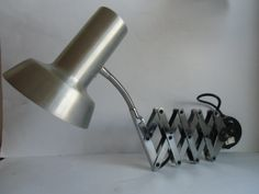 Scherenlampe - Gelenklampe - Schwanenhals - Lampe von MaDütt auf DaWanda.com
