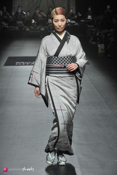 140319-7468 - Autumn/Winter 2014 Collection of Japanese fashion brand JOTARO SAITO on March 19, 2014, in Tokyo.