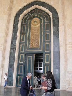 Door of Al Faw Palace by emilymylime, via Flickr  Iraq