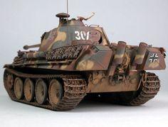 Panther Ausf. G Late Version Tamiya 1/35 Scale Model. #5B