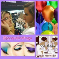 PARABÉNS PARA TODOS NÓS MAQUIADORES!!! HOJE É NOSSO DIA!!! ARTISTAS DA BELEZA QUE UTILIZAM O ROSTO COMO UMA TELA. TRANSFORMANDO O QUE É BONITO EM ALGO AINDA MAIS BELO!!! #diadomaquiador #makeupartist #makeup #ilovemakeup #instalog #beauty #maquillage #blogueiras #jacquelinefraga #beleza #love