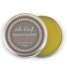 Body Range | oh-lief Natural Baby Products - My favourite lip balm with beeswax. Worth every penny