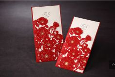Laser cutting flowers customised invitation card wedding marriage party,festival greeting kit,100PCS/lot,Express free shipping