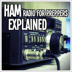 HAM explained - http://tinhatranch.com/ham-radio-preppers-explained/#.U7C110Ds39x