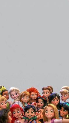 Papel de Parede Princesas Disney – Background Pictures for Celular, # Mobile … - Cartoon Wallpaper Iphone, Disney Phone Wallpaper, Iphone Background Wallpaper, Cute Cartoon Wallpapers, Tumblr Wallpaper, Aesthetic Iphone Wallpaper, Aesthetic Wallpapers, Mobile Wallpaper, Moana Wallpaper Iphone