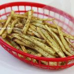Crispy Shoestring Parsnip Fries LOTS OF AIP RECIPES ON HERE