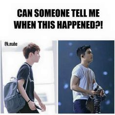 Exo Kyungsoo what. what de hell. i wanna touch his arms. Kaisoo, Kyungsoo, Chanyeol, Exo Ot12, Memes Exo, Funny Kpop Memes, Fandom, Kim Minseok, Xiuchen