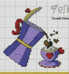Smurfs, Disney Characters, Fictional Characters, Cross Stitch, Crochet, Anna, 1, Cross Stitch Embroidery, Kitchen