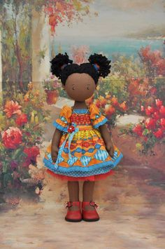 Textile doll decorative dollcollectible dolls doll от NilaDolss
