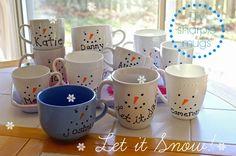Sew Sweet Vintage: DIY sharpie mugs