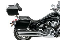 REF.AR0012N-AR0013N+MT0001N - Alforjas Rígidas Modelo Silver/ Rigid Saddlebags Model Silver