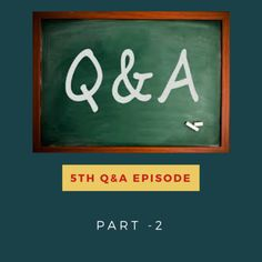 Listen to This Podcast (00:42:25) Download Listen in a New Window iTunes Stitcher SoundCloud Leave a Review Clammr It Subscribe via RSS Subscribe on Android Subscribe Here To be Notified about Important news and updates Powered by the Simple Podcast Press Player In this 2nd part of our last Q&A episode, I answer remaining 5 …