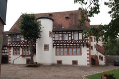 The Brothers Grimm house at Steinau an der Strasse, now a museum.