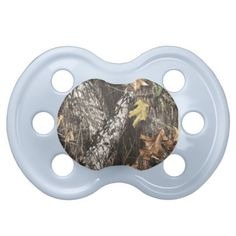 Camo Pacifier- MY HUSBAND WILL LOVE THIS ONE