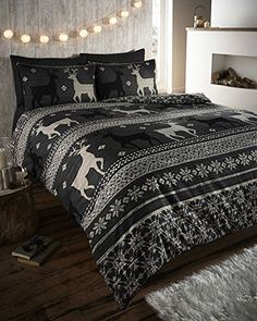 WARM & COSY SOFT BRUSHED COTTON DUVET COVER SETS (double, charcoal black) HOMEMAKER BEDDING http://www.amazon.co.uk/dp/B00NP2GMO8/ref=cm_sw_r_pi_dp_AAtpub1GKE4AQ