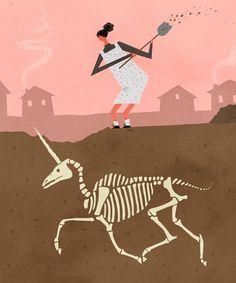 Chicago illustrator Lilli Carre, Illustration for Rookie Magazine
