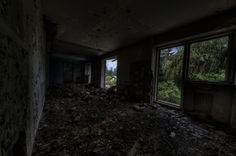 Room with View - <h3>Cabana Dimbul Morii</h3> Part two of the photo series of an old, abandoned hotel near Brasov.  Found by accident on a cloudy evening. Decayed, creepy and robbed of all it's former infrastructure.  But this time we've been back equipped - with a Canon EF 11-24mm and a Canon TS-E 24mm; both adapted to my Sony ILCE-7RM2.