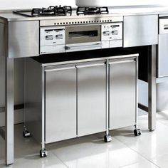 """Determine more info on """"Outdoor Kitchen Appliances pictures"""". Have a look at our site. Steel Kitchen Cabinets, Outdoor Kitchen Appliances, Outdoor Fridge, Outdoor Gas Fireplace, Kitchen, Kitchen Dining Room, Studio Kitchen, Kitchen Layout, Outdoor Kitchen"""