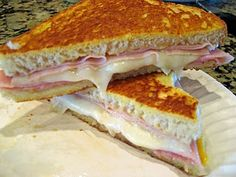 Monte Cristo Sandwiches- These were delicious! Made them for my parents too and they were a big hit.