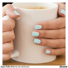 Aqua Polka Dots Fingernail Art Available on many products! Hit the 'available on' tab near the product description to see them all! Thanks for looking!     @zazzle #art #polka #dots #shop #chic #modern #style #circle #round #fun #neat #cool #buy #sale #shopping #men #women #sweet #awesome #look #accent #fashion #clothes #apparel #earrings #headband #sunglasses #ties #belts #fingernail #black #white #color #blue #orange #green #yellow #purple #violet #lilac #aqua #light #dark #pink #red