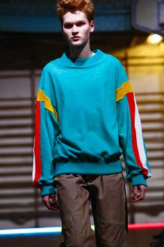Gosha Rubchinskiy Menswear Spring Summer 2016 Paris - NOWFASHION