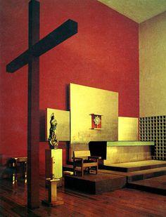Capilla del Convento de las Capuchinas, calle Hidalgo 43 Tlalpan, México DFArq. Luis Barragán - Chapel of the Convent of the Capuchin, Calle Hidalgo Tlalpan, Mexico City