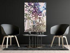 Decor Interior Design, Interior Decorating, Rental Decorating, Affordable Art, Mykonos, Office Decor, Online Printing, Etsy Shop, Wall Art